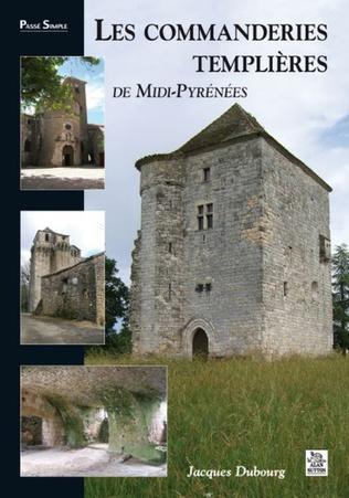 Couverture Les Commanderies templières en Midi-Pyrénées
