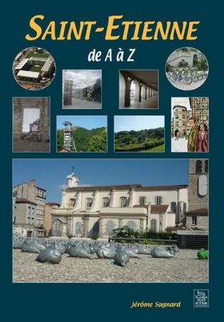 Couverture Saint-Etienne de A à Z