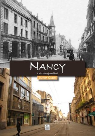 Couverture Nancy d'hier à aujourd'hui