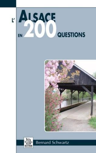 Couverture L'Alsace en 200 questions