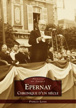 Couverture Epernay - Chronique d'un siècle