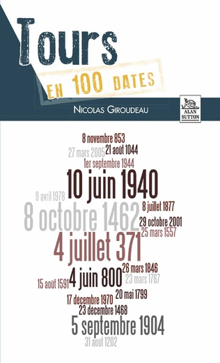 Couverture Tours en 100 dates