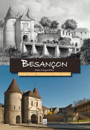 Couverture Besançon d'hier à aujourd'hui