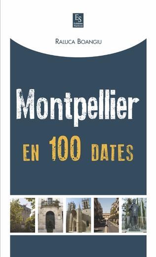Couverture Montpellier en 100 dates