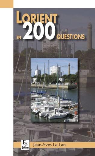 Couverture Lorient en 200 questions