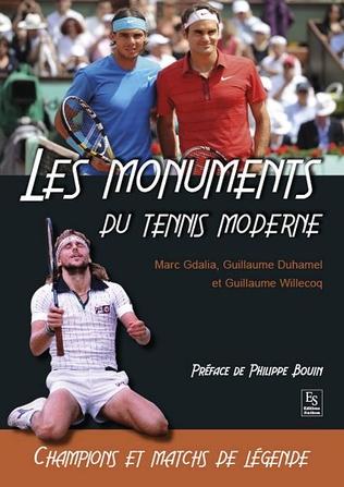 Couverture Les Monuments du tennis moderne
