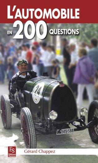 Couverture L'Automobile en 200 questions