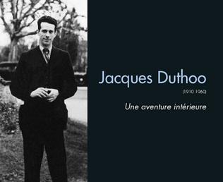 Couverture Jacques Duthoo (1910-1960)