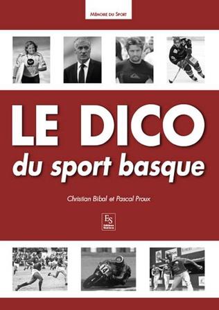 Couverture Le Dico du sport basque