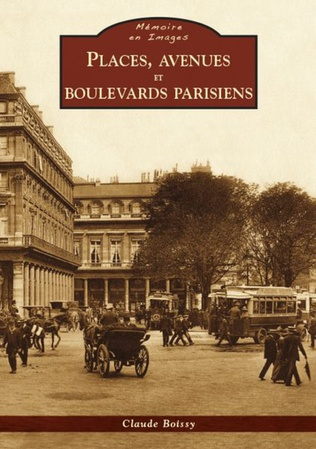 Couverture Places, avenues et boulevards parisiens