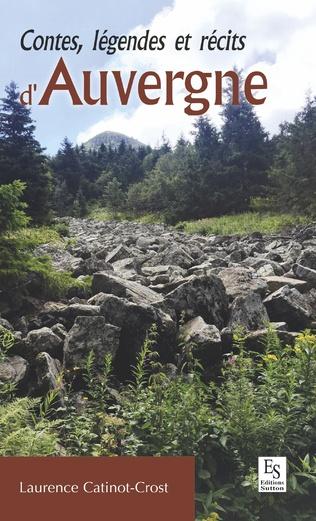 Couverture Contes, légendes et récits d'Auvergne