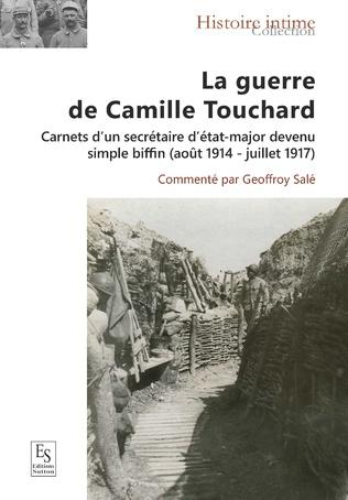 Couverture La guerre de Camille Touchard