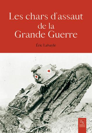 Couverture Chars d'assaut 1914-1918