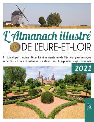 Couverture L'Almanach illustré de l'Eure-et-Loir 2021