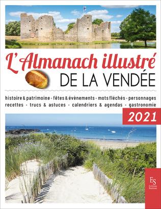 Couverture L'Almanach illustré de la Vendée 2021