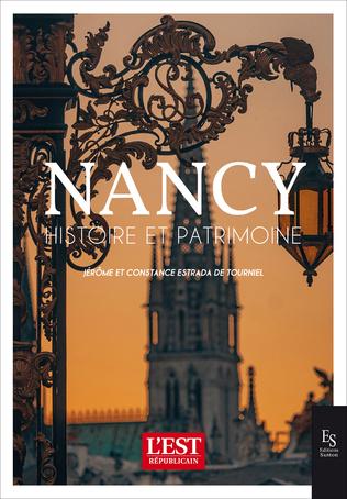 Couverture Nancy Histoire et Patrimoine