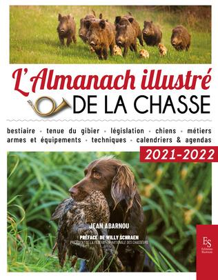 Couverture L'almanach illustré de la chasse 2021-2022