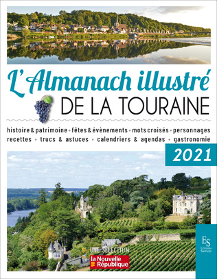 Couverture L'almanach illustré de La Touraine 2021