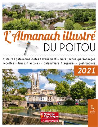 Couverture L'Almanach illustré du Poitou 2021