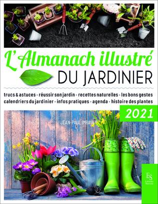 Couverture L'Almanach illustré du jardinier 2021
