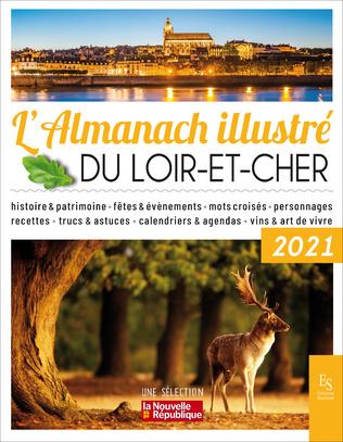 Couverture L'almanach illustré du Loire-et-Cher 2021