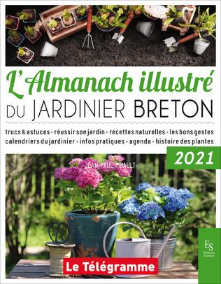 Couverture L'almanach illustré du jardinier Breton 2021