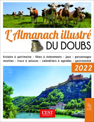 Couverture L'almanach illustré du Doubs 2022