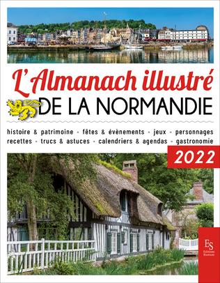 Couverture L'almanach illustré de la Normandie 2022