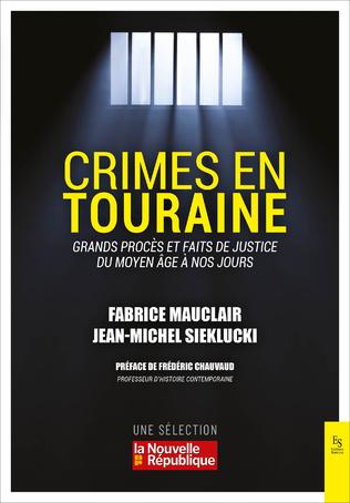 Couverture Crimes en Touraine