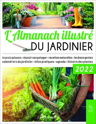 Couverture L'almanach illustré du jardinier 2022