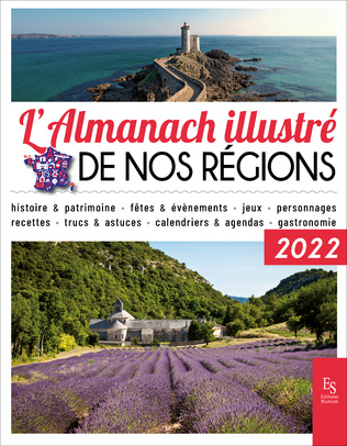 Couverture L'almanach illustré de nos régions 2022