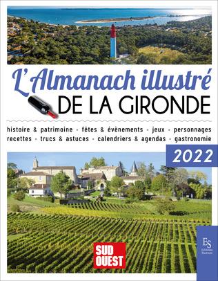 Couverture L'Almanach illustré de la Gironde 2022