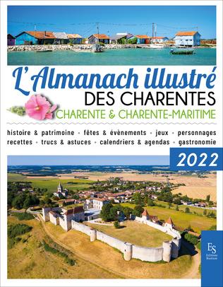 Couverture L'almanach illustré des Charentes 2022