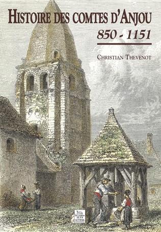 Couverture Histoire des comtes d'Anjou