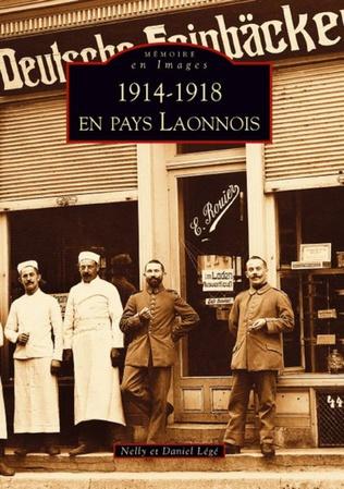 Couverture 1914-1918 en Pays Laonnois