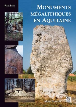 Couverture Monuments mégalithiques en Aquitaine