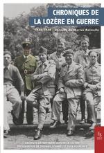 Chroniques de la Lozère en guerre 1939-1945