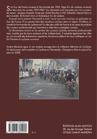 4eme Cyclisme normand - Le dico