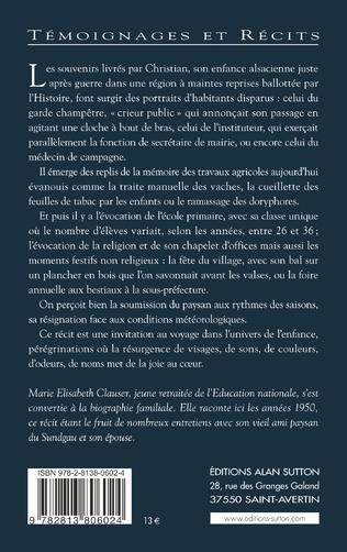 4eme Années 1950 - Grandir en Alsace