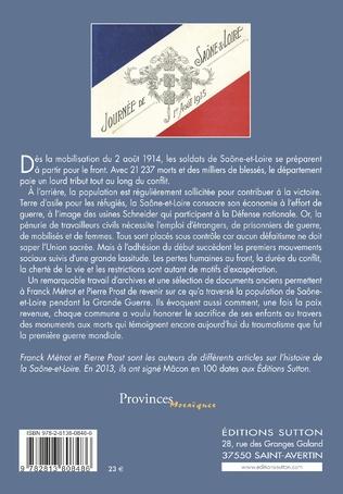 4eme La Saône-et-Loire pendant la Grande Guerre