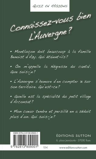 4eme L'Auvergne en 200 questions