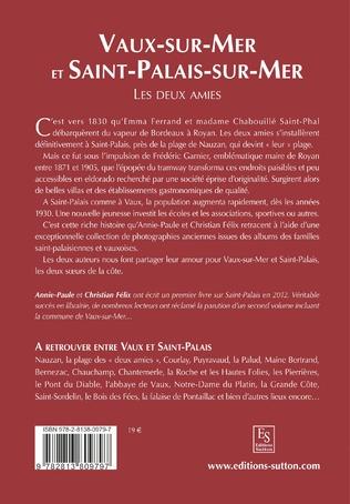 4eme Vaux-sur-Mer et Saint-Palais-sur-Mer - Les deux amies