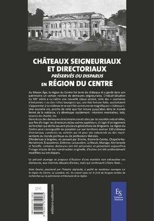 4eme Châteaux seigneuriaux et directoriaux préservés ou disparus