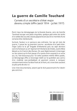 4eme La guerre de Camille Touchard