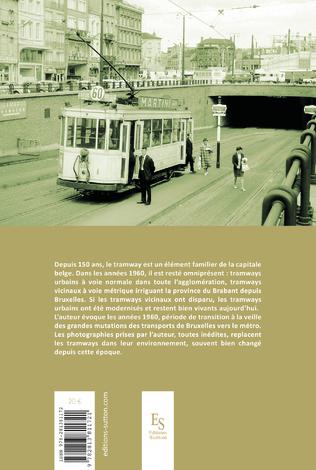 4eme Tramways de Bruxelles années 1960