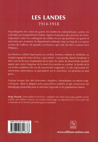 4eme Les Landes 1914-1918