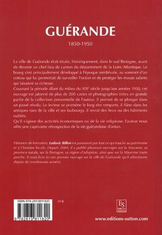 4eme Guérande 1850-1950