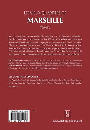 4eme Les vieux quartiers de Marseille - Tome V