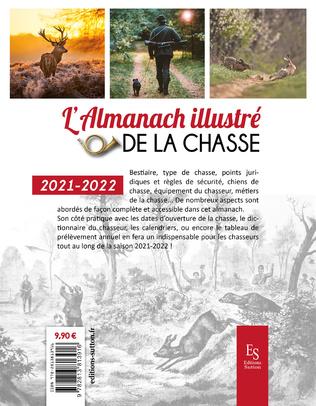 4eme L'almanach illustré de la chasse 2021-2022