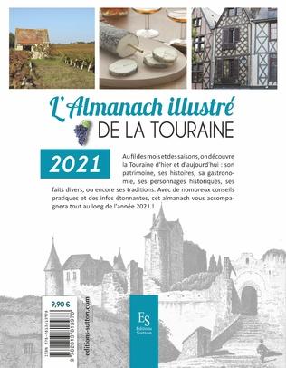 4eme L'almanach illustré de La Touraine 2021